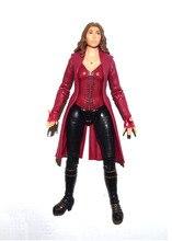 """Film Captian Americano 3 Guerra Civile Scarlet Witch 7 """"Figura di Azione Allentata"""