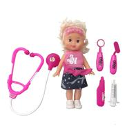 Kids Toys Mini Doctor Game Educatioal Baby Doll Set High Quality Birthday Xmas Gifts For Children