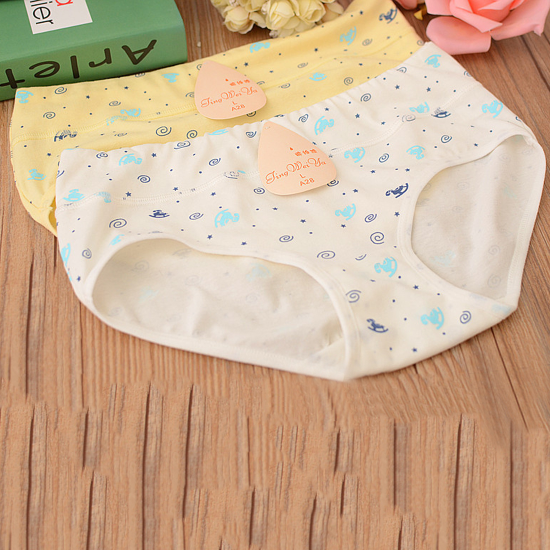 Buy Top Quality Women's Cotton Briefs Underpants Sexy Lingerie Underwear Knicker Panties
