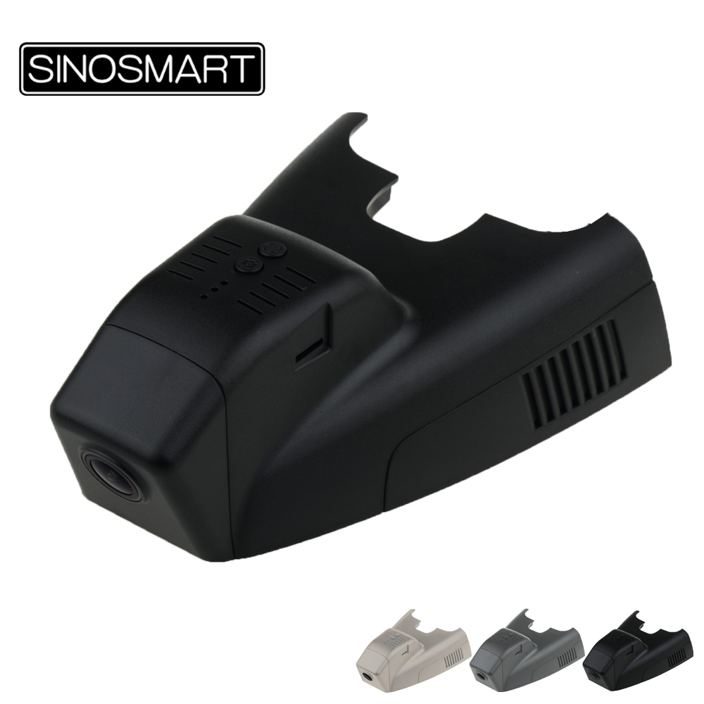 SINOSMART Novatek 96658 Car Wifi DVR Camera For Mercedes Benz B200 2015 Control By Mobile Phone App SONY IMX323
