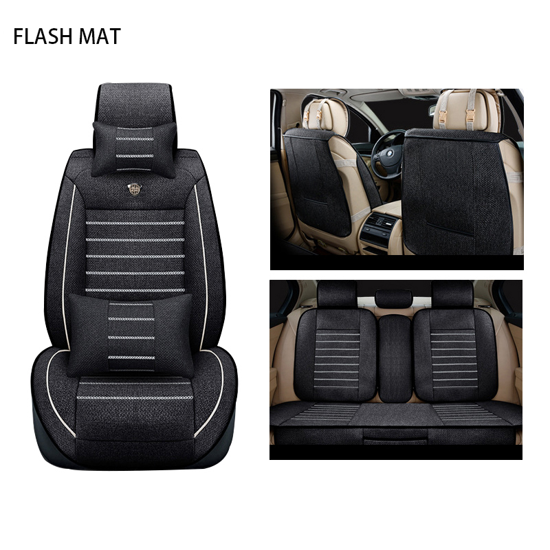 flax car sear covers for mazda cx-5 cx-7 cx-9 2 3 bk mazda 6 gh 6 gg 323 626 demio Auto accessories Car seat protect new luxery flax universal car seat covers for mazda 3 6 2 c5 cx 5 cx7 323 626 axela familia car automobiles accessories cushion