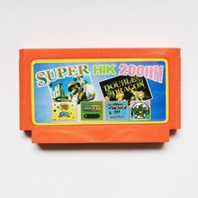New 8bit Game card Best gift for children - Super HIK 200 In 1