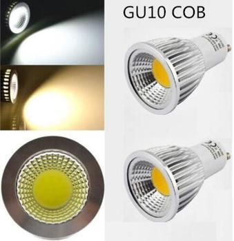 1pcs Super Bright GU 10 Bulbs Light Dimmable Led  85-265V  9W 12W 15W GU10 COB LED Lamp Light GU10 E14 E27 B22 Led Spotlight