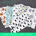 Детские брюки Брюки для Мальчиков Девочек Младенческой Животных Фокс Panda Бэтмен Плед Леггинсы Малыш Мультфильм Шаровары Детская Одежда
