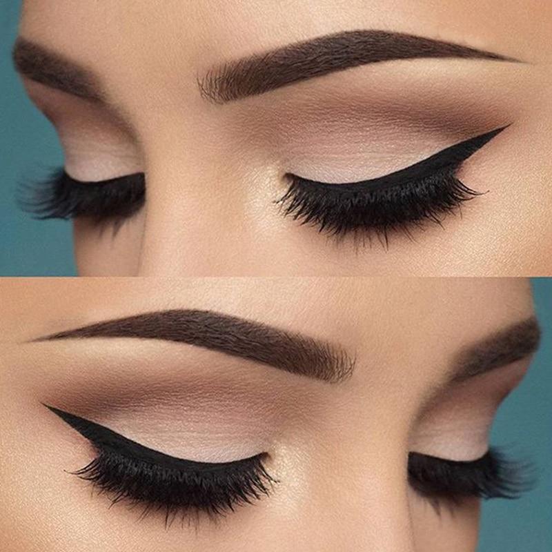 6pcs 6 Styles Cat Eyesmokey Eye Makeup Eyeliner Stencil Repeatable