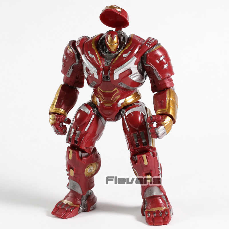 Marvel Avengers Hulkbuster PVC Action Figure Collectible Modelo Toy 18 cm