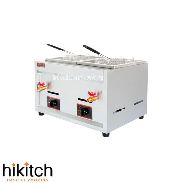 Sale restaurant kitchen equipment Stainless steel 19L gas chips deep ...