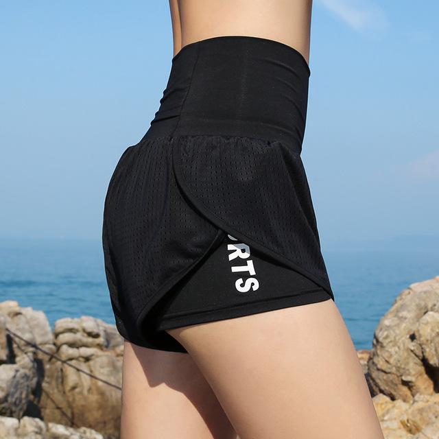 Push Up High Waist Shorts