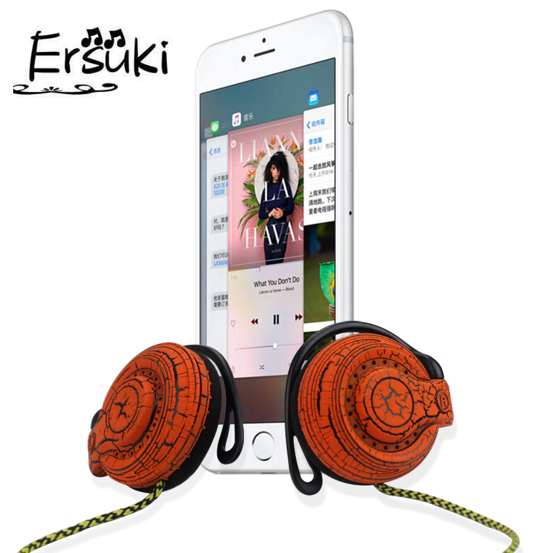 Bass Headphones General Purpose Earphone Ear Hook Headphone Headset for iPhone Xiaomi All Mobile Phone Free Shipping подушка technogel deluxe 11 техногель делюкс