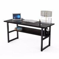 63 компьютерный стол с книжной полки офиса письменный рабочей станции 2 в 1 стол и книжный шкаф портативных ПК учебный стол для офис