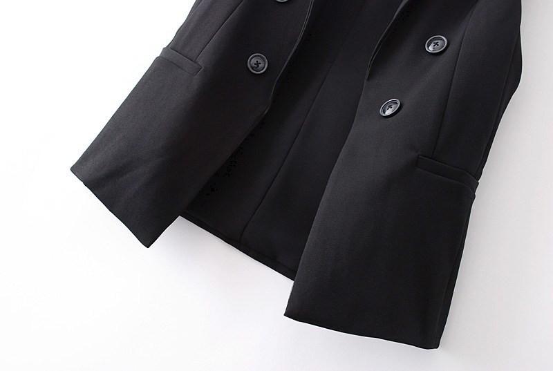 blazer vest outwear ow0114 black-3