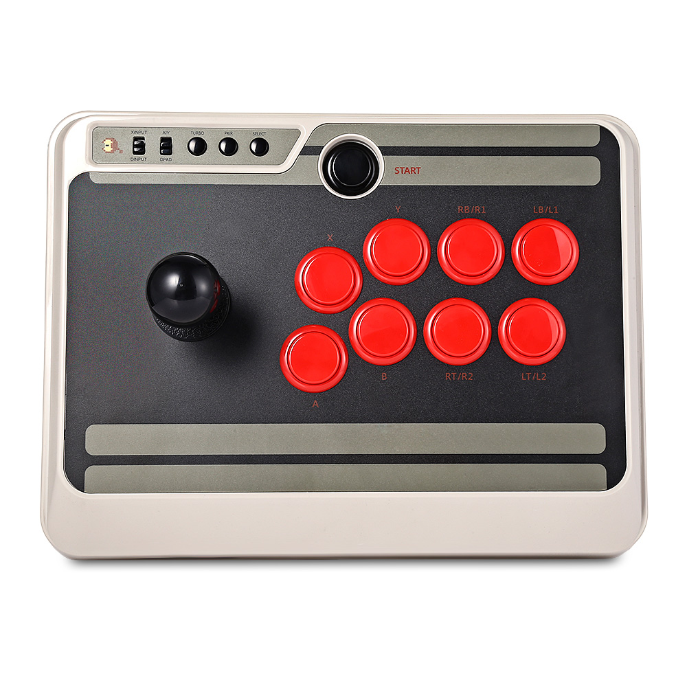 8Bitdo N30 Wireless Joystick Arcade Stick Compatibile