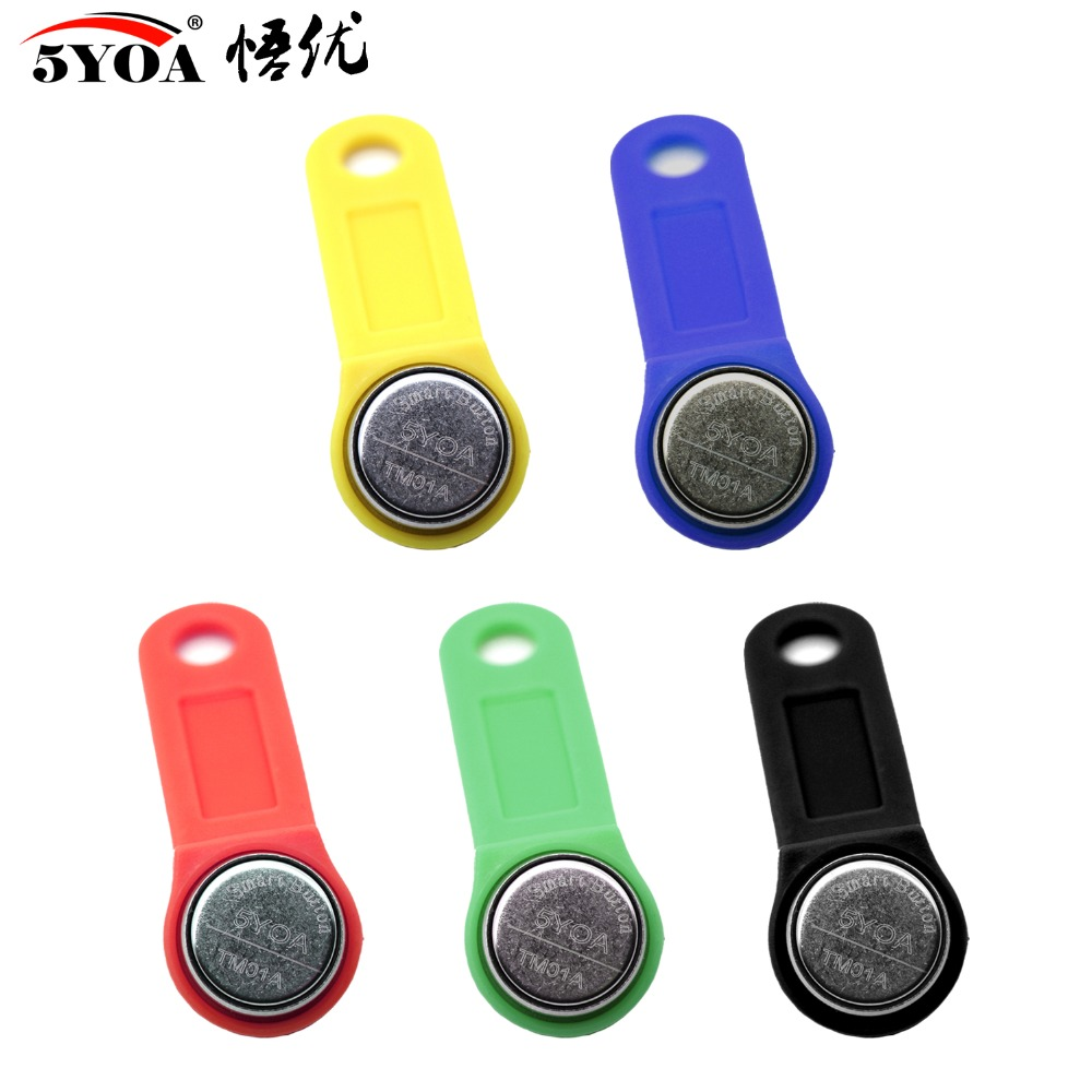 Access Control Cards Access Control Energetic 5000pcs Ibutton Key Rewritable Key Rw1990 Copy Ibutton For Ds1990a