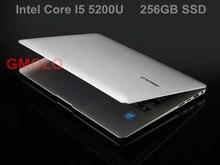 I5 laptop computer 13.3inch Windows 10 aluminium ultrabook notebook 4GB 256GB SSD backlit keyboard 1920*1080 HD screen(China (Mainland))