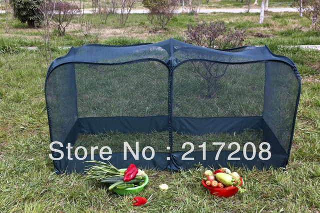 Pop Up Garden Cover Greenhouse Flower And Vegetable Mesh