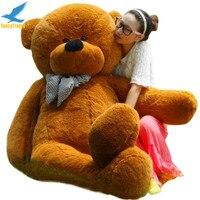 Fancytrader темно коричневый Гигантские фаршированные Teddy Bear 78 дюйм(ов) (200 см) Бесплатная доставка 4 цвета ft90056