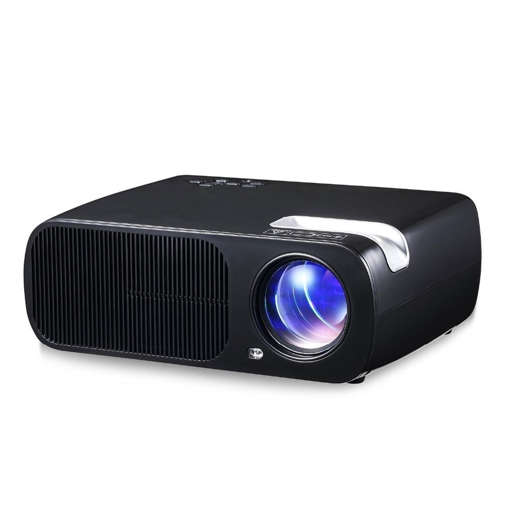 23cbd0a9815e7b Morroto M98 1080P HD LED Projector,2600 Lumens with HDMI/VGA/USB/AV/TV for  Video TV Movie Party Game Home Cinema Theater (Black)