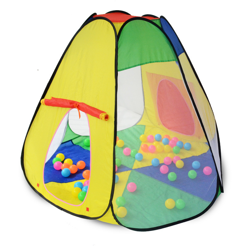 2016 FREE SHIPPING Baby Play Yard Children Tent Infant Play House Indoor Tents Fold Ball Pool Play Tent Safety Mesh Baby Playpen