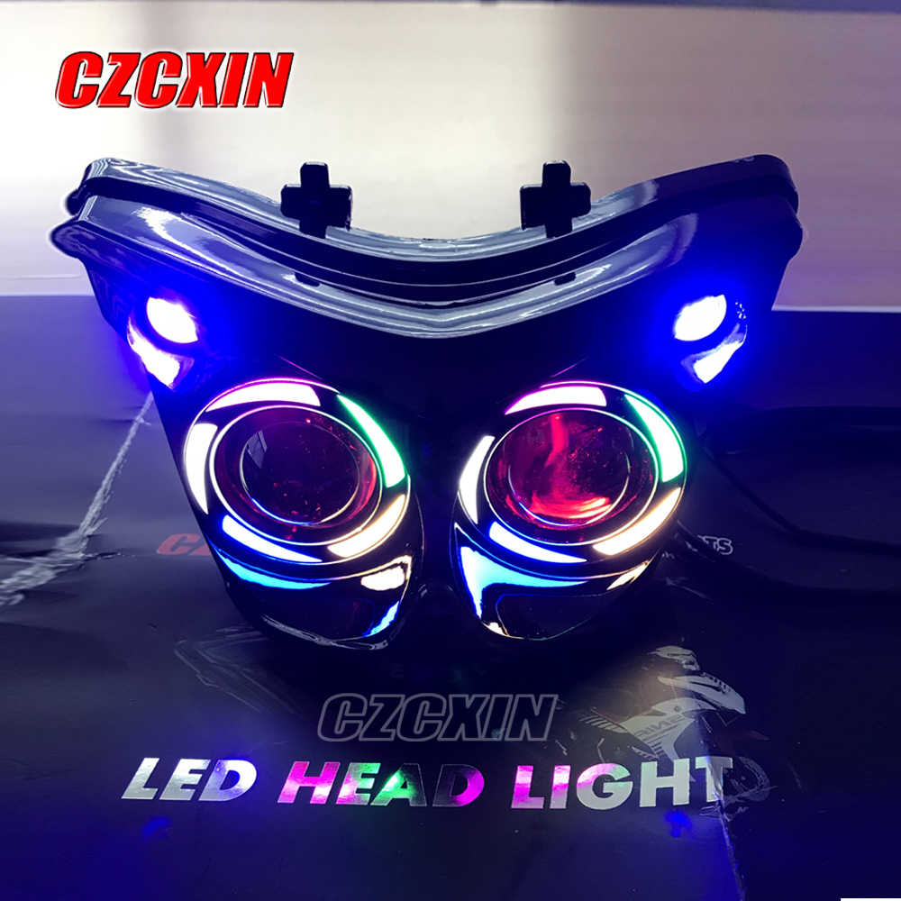 Motorcycle headlight modified LED head light headlamp front lamp for YAMAHA  Exciter150 MXKING150 Y15ZR