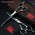 Kasho 5inch 5.5inch 6Inch Professional Hair Scissors Hairdressing Tools Barber Hair Cutting Shears Set For Haircut Salon