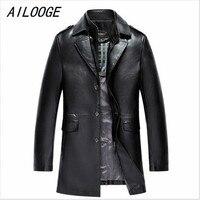 Новое поступление Для Мужчин's Пояса из натуральной кожи куртка Для мужчин пальто бренда Для мужчин кожа Курточка бомбер Пиджаки для женщин ...