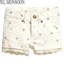 Шорты для девочек Girls Denim Shorts
