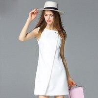 2017 Women Summer Dresses White Fashion Big Pin Plus Size Casual Retro Plus Size Elegant Bohemian