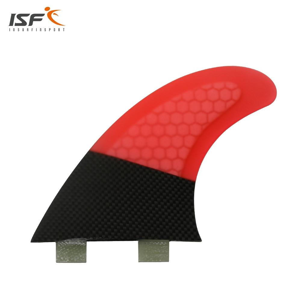 Free shipping quilhas de Surf Fcs fins Surfboard Fins Thrusters Red carbon fiber FCS pranchas de Surf Fins a critique of adjudication – fins de siecle