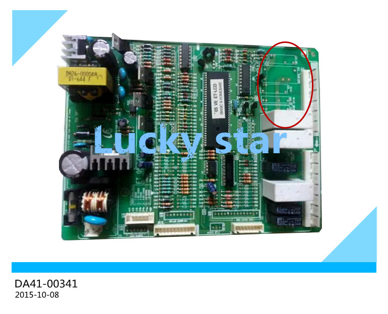 95% new for Samsung refrigerator pc board Computer board DA41-00341C RS60NJS* board good working 95% new original good working refrigerator pc board motherboard for samsung rs21j board da41 00185v da41 00388d series on sale