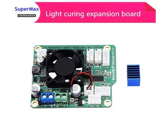 3D printer Nanno DLP Shield V1.1 Raspberry Pi 3B light curing expansion board3D printer Nanno DLP Shield V1.1 Raspberry Pi 3B light curing expansion board