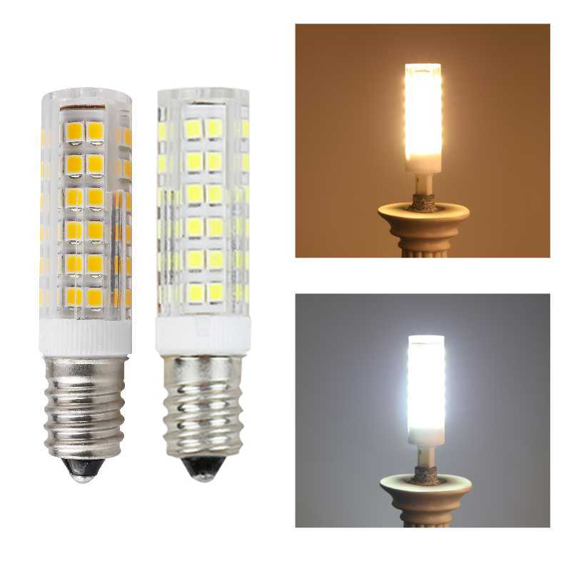 E14 LED Light Bulb 5W 7W 9W 12W 15W 220V SMD Ceramic Lamp replace 30w 40w 50w Halogen for Candle Crystal Chandelier refrigerator