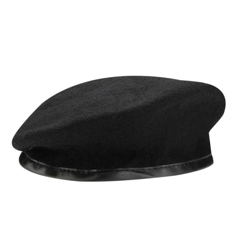 6c4df831eb9 ... Winter Wool Knitted Military Army Men Beret Hat Special Forces Soldiers  Uniform Cap Death Squads Military ...
