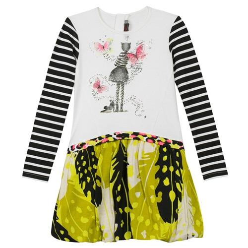 girls dress brand 2017 summer sleeveless French brand child dress flower sundress