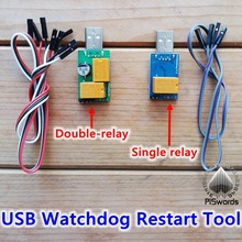 USB PC Watchdog card board module automatic restart retoot Sensor Switch for computer/server/mining game blue screen death