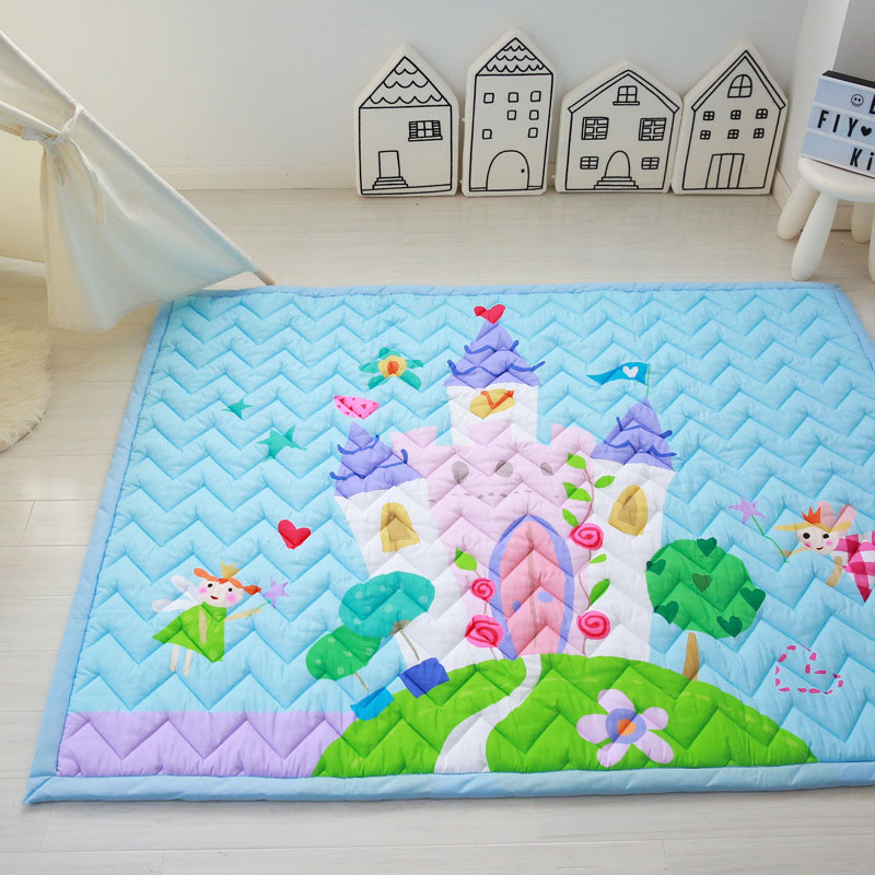 Infant Shining 145x195CM Large Baby Play Mats Cartoon Carpet Rectangle Thickening Blanket Living Room Bedroom Anti-skid RugsInfant Shining 145x195CM Large Baby Play Mats Cartoon Carpet Rectangle Thickening Blanket Living Room Bedroom Anti-skid Rugs