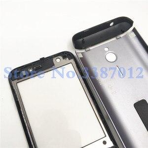 Image 5 - Ban đầu Cho Nokia 230 New Full Hoàn Chỉnh Điện Thoại Di Động Nhà Ở Cover + Tiếng Anh Bàn Phím + Logo