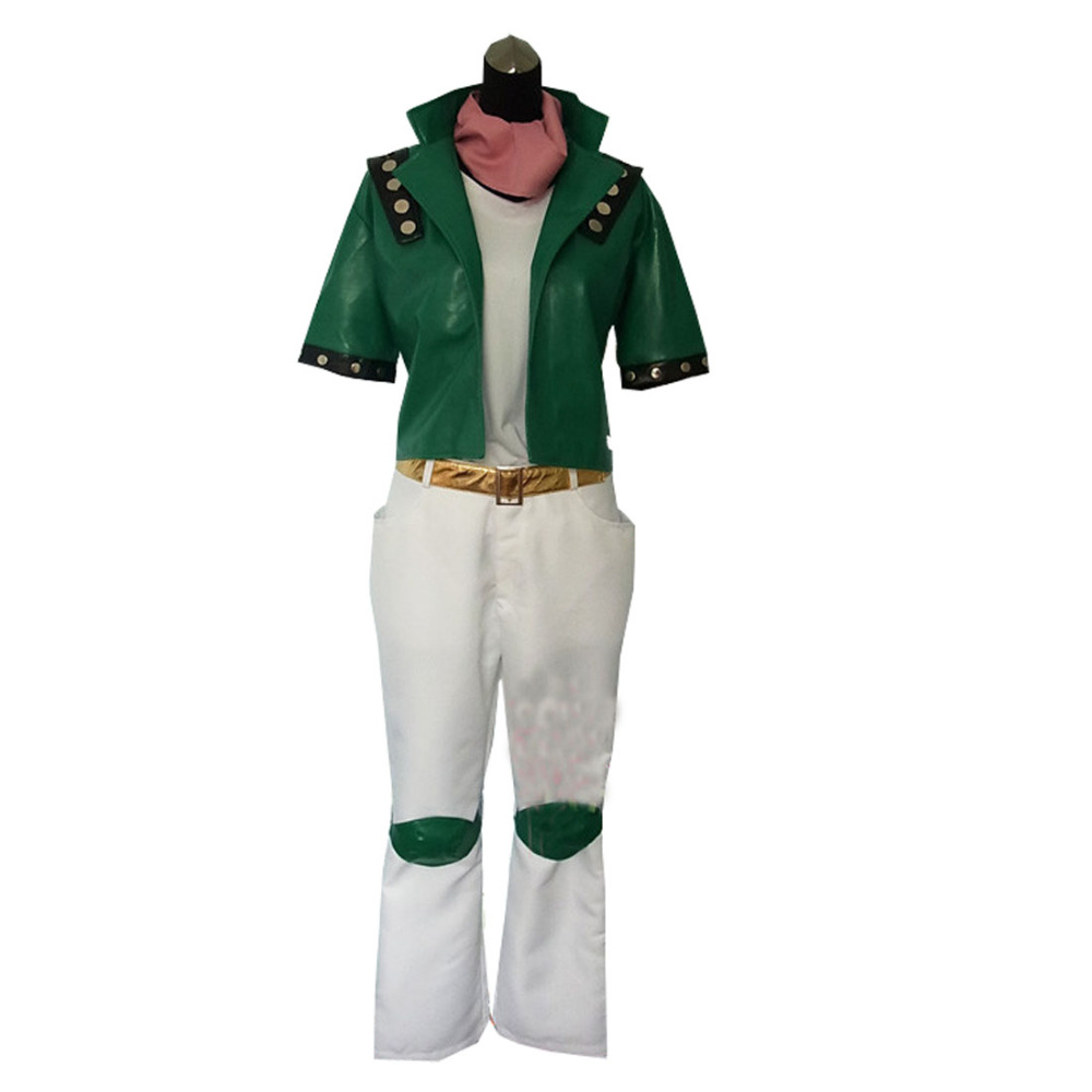 2018 JoJo's Bizarre Adventure Caesar Anthonio Zeppeli Anime Uniforms Cosplay Costume Full Set Any Size