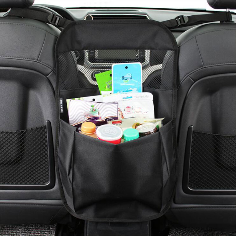 Car Back Seat Organizer with Larger Protection Storage Eco Friendly Materials Great Travel Accessory for Kids in Stowing Tidying from Automobiles Motorcycles