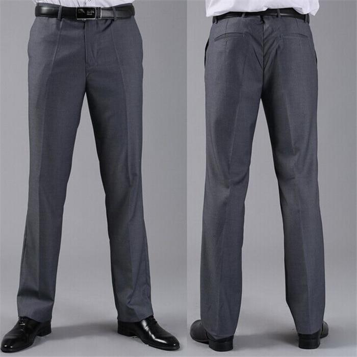 Мужские костюмные брюки модные свадебные формальные 12 цветов повседневные брюки известный бренд блейзер брюки Деловое платье брюки CBJ-H0284 - Цвет: standard dark grey