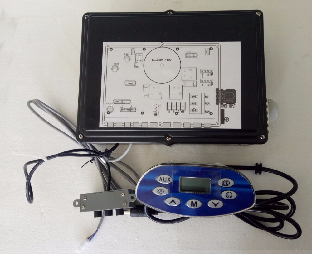 Ethink Bathtub controller set 120V output control box + keypad panel fit lagunabay homeandgarden Energy Saver Spa Equipment
