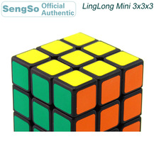 ShengShou LingLong Mini 3x3x3 Magic Cube 3x3 Professional Competition Neo Speed Puzzle Antistress Fidget Toys For Children