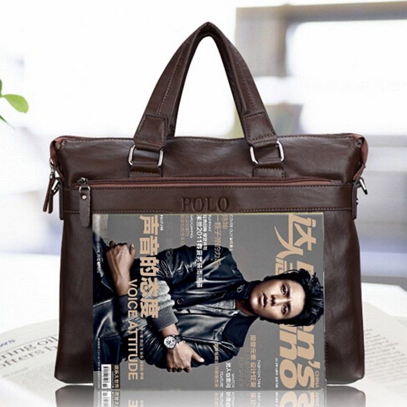 moda homens messager sacolas de Tipo de Ítem : Genuine Leather Bag, polo, polo Bag