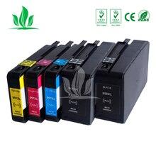 1 комплект + 1BK 950XL 951XL совместимые картриджи для Officejet Pro 8100 8600 8610 8615 Pro8630/8640/8660 8625 принтера
