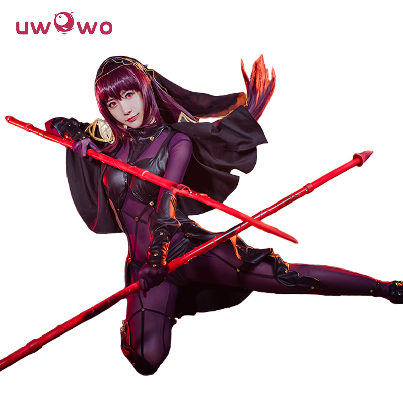 UWOWO Scathach Cosplay Fate Grand Order BBA Uwowo Costume Fate Grand Order Scathach Cosplay Costume Women Christmas