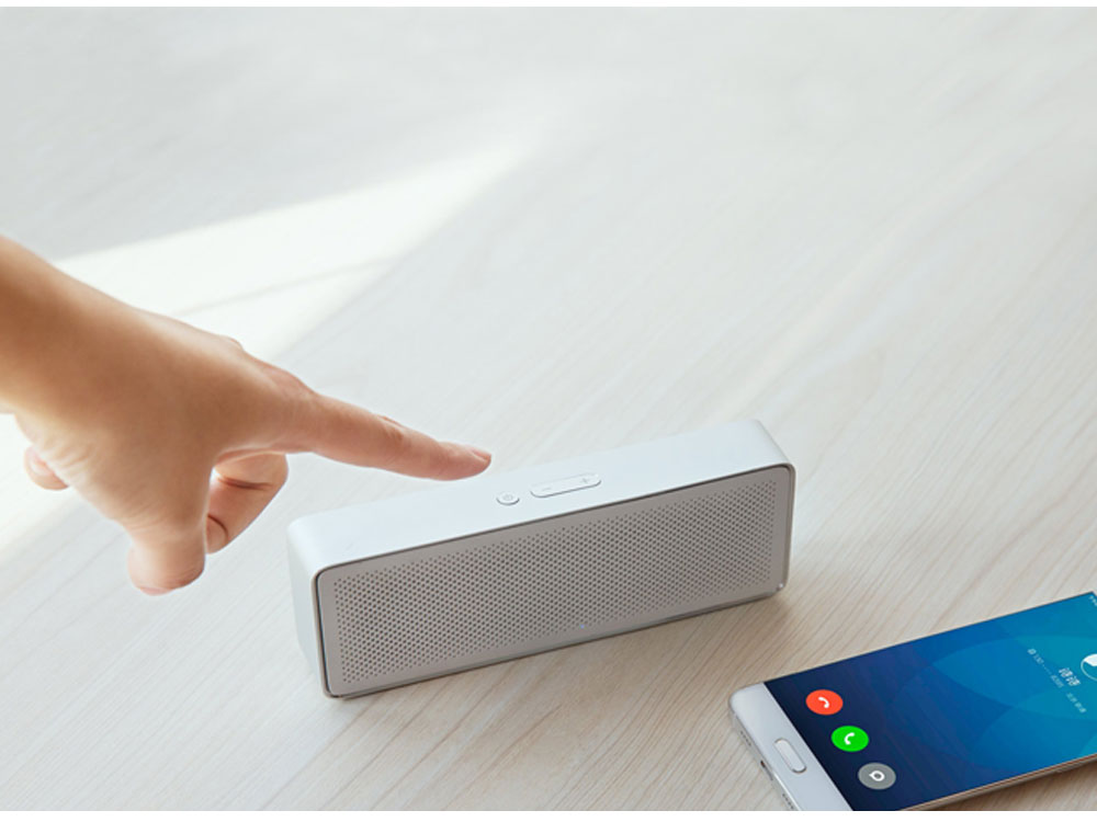 Original Xiaomi Mi Bluetooth Speaker 2 Square Box Stereo Portable Bluetooth 4.2 High Definition Sound Quality 10h Play Music AUX Port (13)