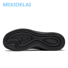 MIXIDELAI New Mesh Men Casual Shoes Lac-up Men Shoes Lightweight Comfortable Breathable Walking Sneakers Tenis Feminino Zapatos