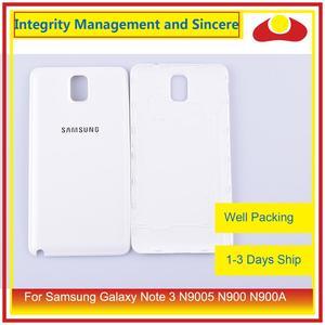 Image 1 - الأصلي لسامسونج غالاكسي نوت 3 N9005 N900 N900A N900T N900V N900S بطارية مبيت الباب الخلفي الغطاء الخلفي حافظة الهيكل