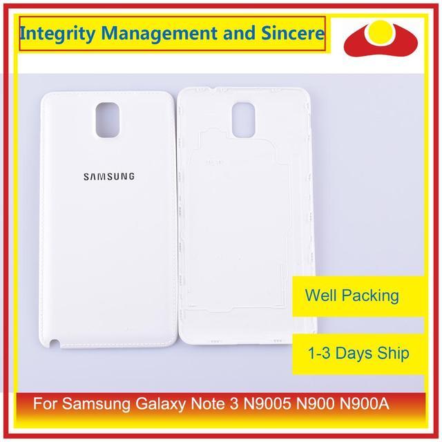 מקורי עבור Samsung Galaxy הערה 3 N9005 N900 N900A N900T N900V N900S שיכון סוללה דלת אחורי כיסוי אחורי מקרה מארז פגז