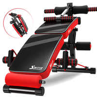 Colorful Spuper Fold Supine Board Abdominal Fitnes Ab Bench Sit-up Bench