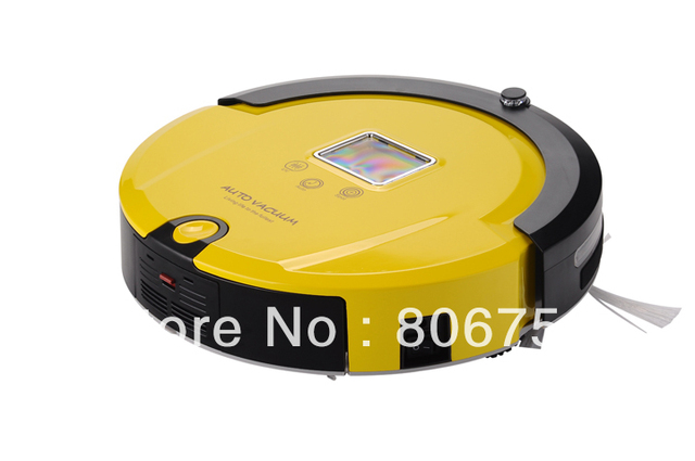 Free Shipping/2013 Brand New Arriving Wet&Dry Robot Vacuum Cleaner+Lowest Nosie+ Longest Working Time+UV lights